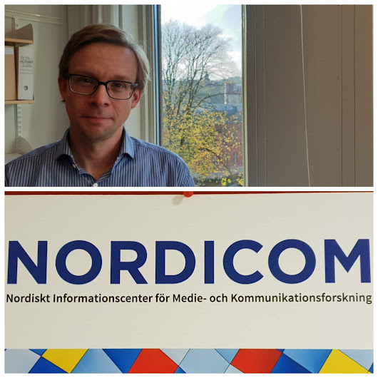NORDICOM: Jonas Ohlsson is the New Director, Conference on Digital Paywalls is 'on the cards' in January 2019 - GOTHENBURG | GÖTEBORG (1621-2021)