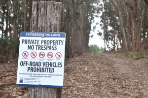 New signs posted at Rancho Corral de Tierra