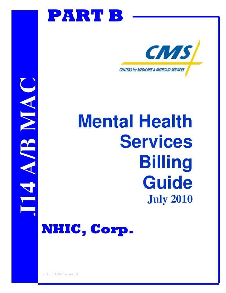Medicare Supplement New Jersey: Medicare Mental Health Billing