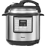 Bella - Pro Series 6-Qt. Digital Multi Cooker - Stainless Steel