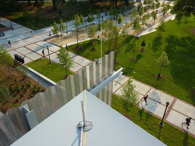 P1000039-2011-09-14-Clough-Bldg-GaTech-Rooftop-Garden-Lightnig-Rods