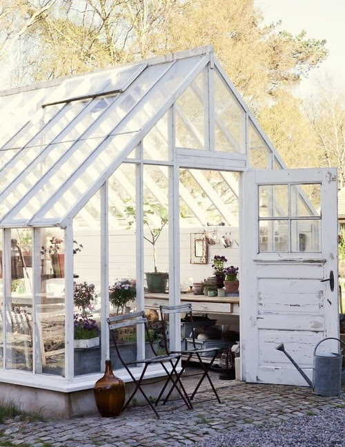 eyecandy: shabby greenhouse