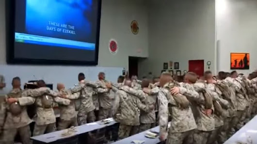 "U.S. Marines Sing ""Days Of Elijah,"" So Good You'll Want To Join In! - Faithreel.com"