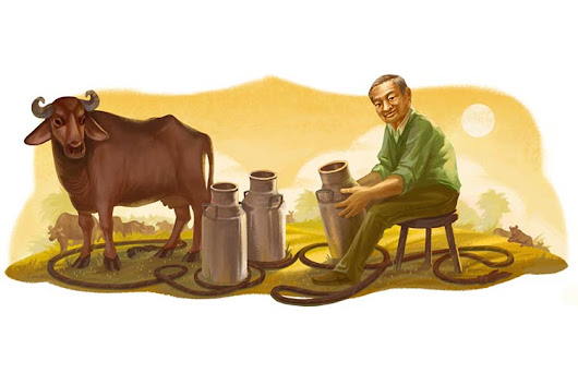 Verghese Kurien's 94th birthday: Google doodles the 'Milkman of India'
