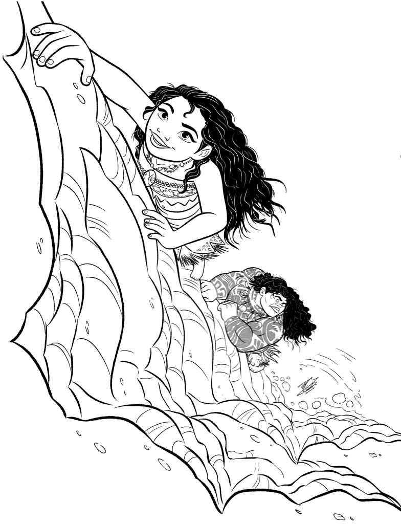 Moana Coloring Pages Best For Kids