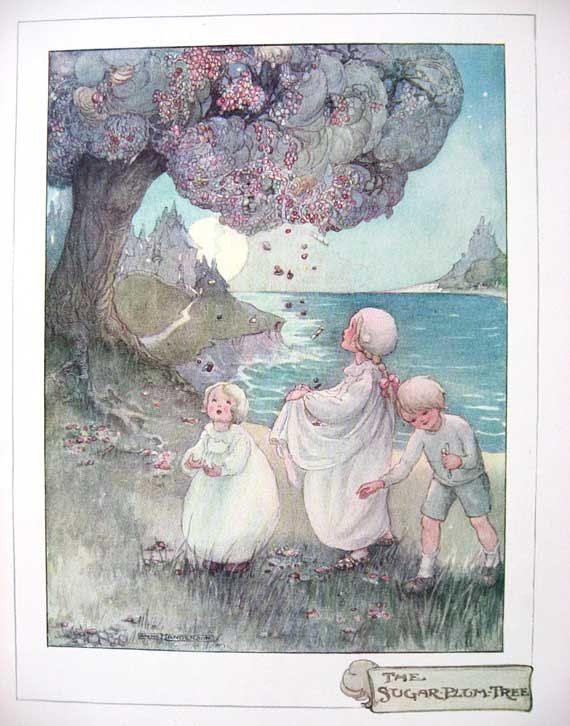 Vintage 1915 The Sugar Plum Tree by Anne Anderson