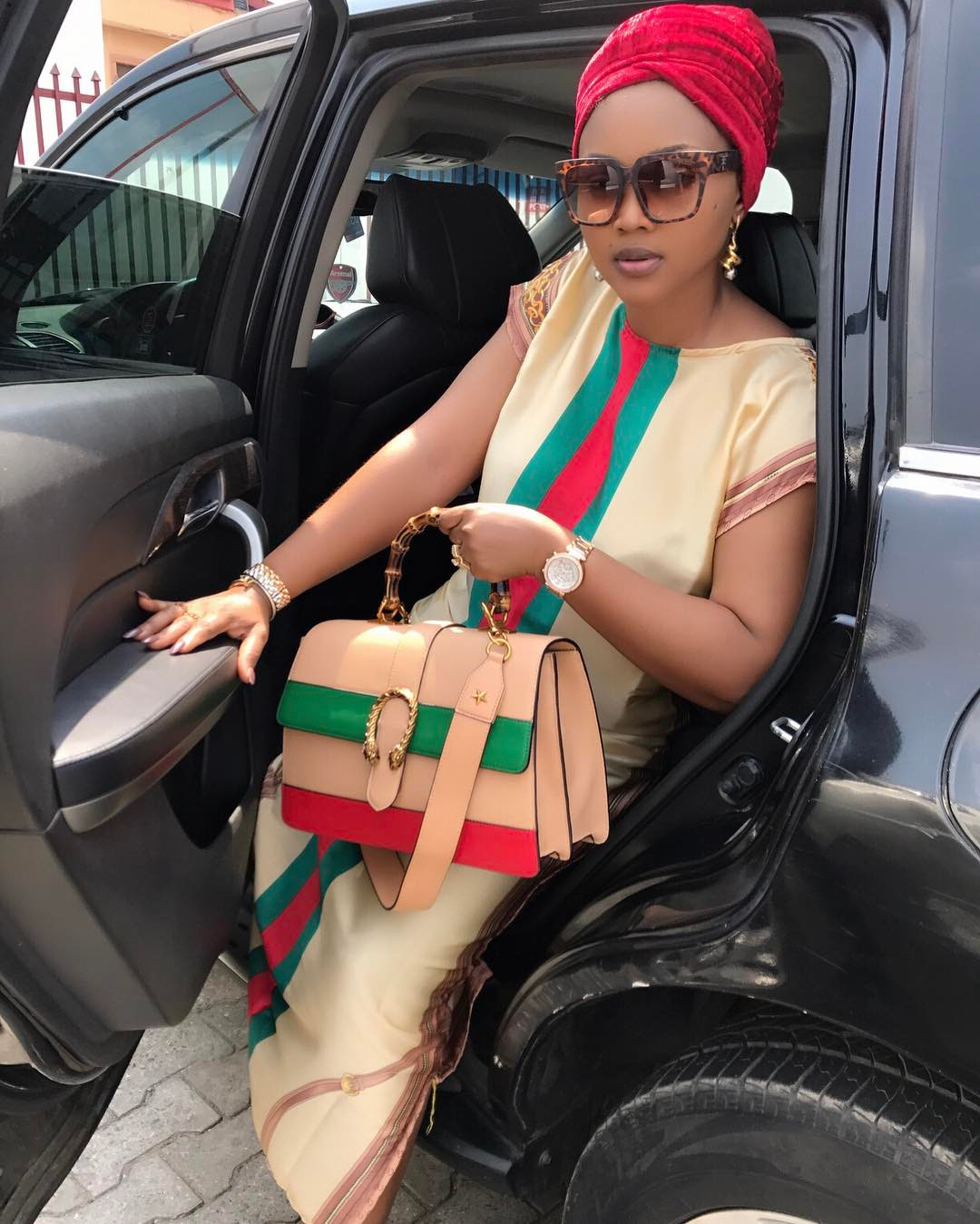UK Based Personal Shopper Comes For Mercy Aigbe And Her 'fake' Gucci Bag