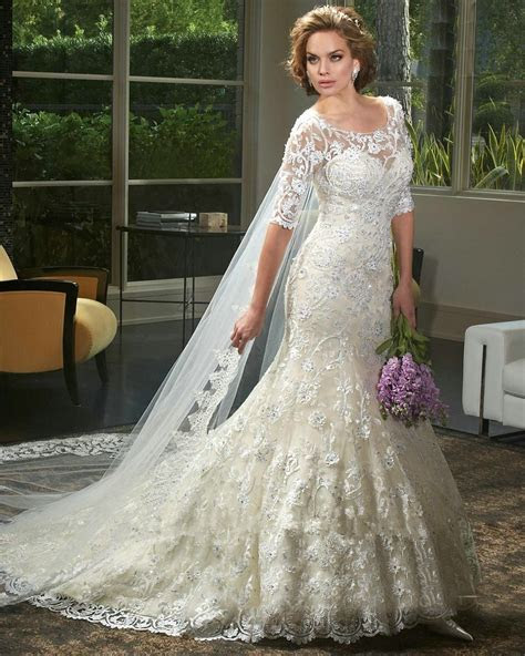 Compare Prices On Lace Back Bling Mermaid Wedding Dress