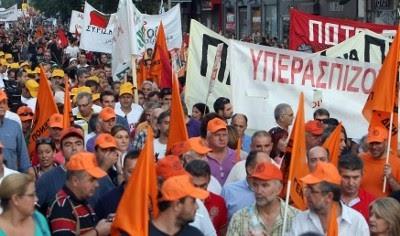 A Grécia é palco de novos protestos