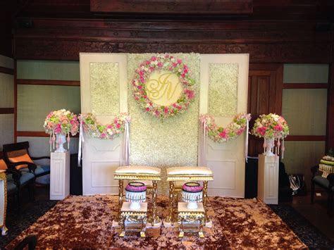 Thai wedding ceremony setup by Leave it on me wedding