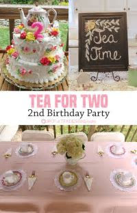 Tea for Two 2nd Birthday Party {GUEST POST}   Spot of Tea