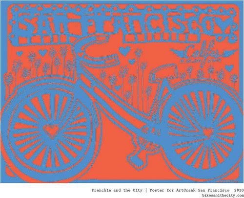 Bikes and the City for Artcrank 2010