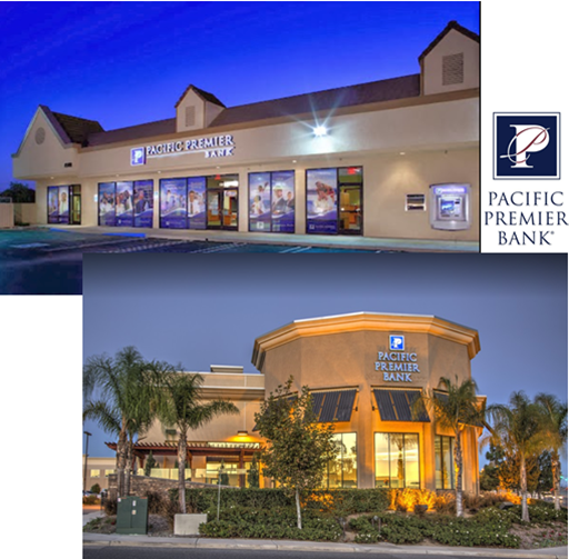 The Spotlight is on Commercial Roofing – Banks – Pacific Premier Bank Huntington Beach – Murrieta