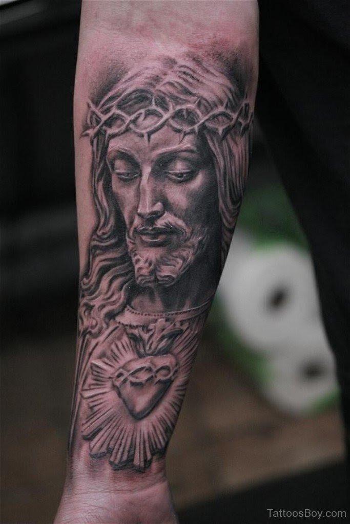 Attractive Jesus Tattoo On Wrist Tattoo Designs Tattoo Pictures