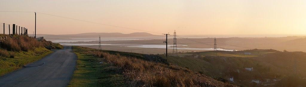 24009 - Sunset over Cwm Dulais