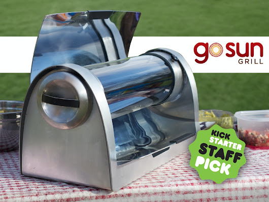 GoSun Grill: A Breakthrough Solar Oven that Cooks at Night