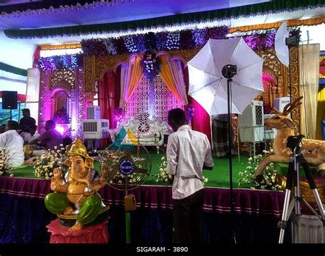 Engagement Decoration at Vedharanyam, Tamilnadu SIGARAM