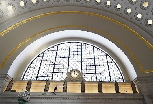 A Union Station ad screen played PornHub videos Monday night