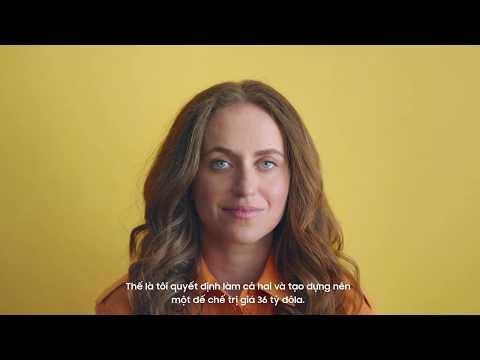 Galaxy Note10: Cân bằng để thành công từ Katerina Schneider
