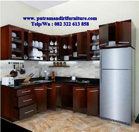 Kitchen Set Kayu Minimalis Desain Model Furniture Jepara Terbaru