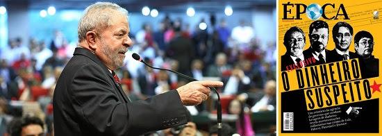 """Lula desafia Época e repete: """"Vou sobreviver"""""""