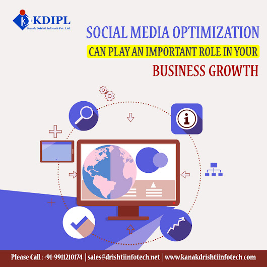 Social Media Optimization Helps In Business Growth