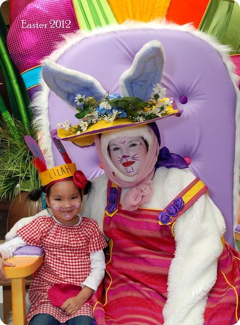 easter bunny @ Carlingwood Mall
