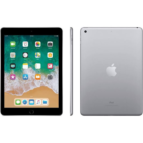 Apple 9.7-inch iPad 6th generation - Wi-Fi - 128 GB - Space Gray - 9.7""
