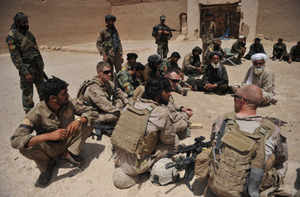 US troops embedded with Pak forces