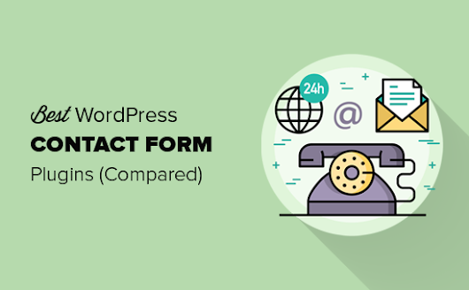5 Best Contact Form Plugins for WordPress Compared (2019)