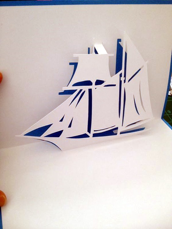 Extremely Creative Examples of Kirigami Art A Hobby to Addapt (32)