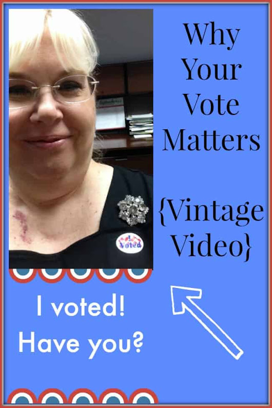 Why Your Vote Matters - Modern Retro Woman
