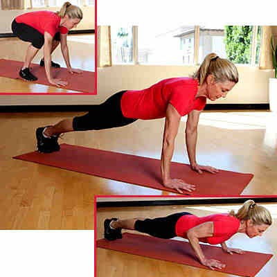 too then you lot tin create this slow workout from fitness proficient Keli  Roberts The One Minute Full Body Workout