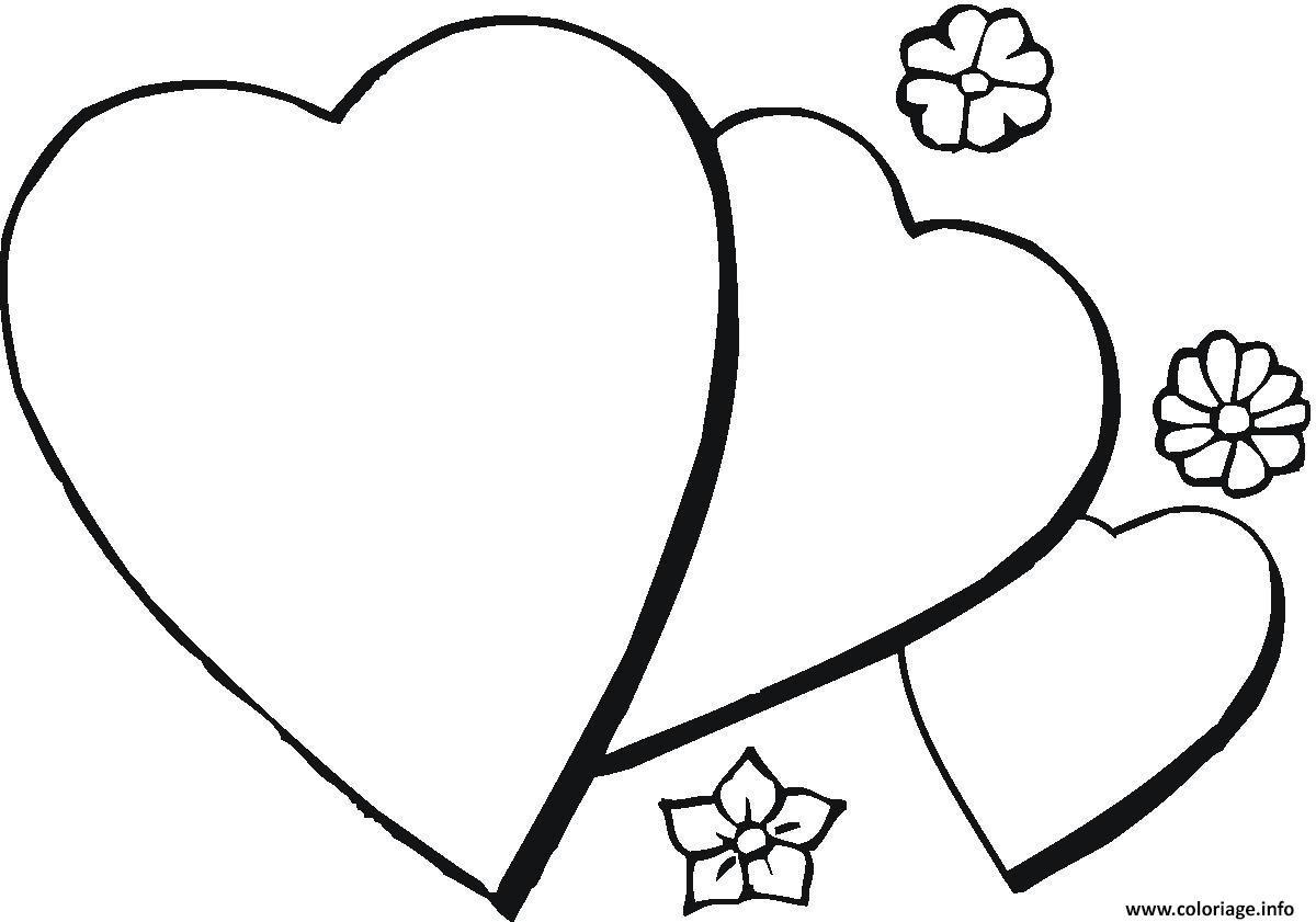 Coloriage Coeur 61 Dessin  Imprimer