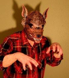 Maschera da lupo mannaro