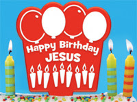 Happy Birthday Jesus Cake Topper Hurry Pop Shop