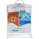 Juvale Hot and Cold Thermal Insulated Food Bags (10 Pack)