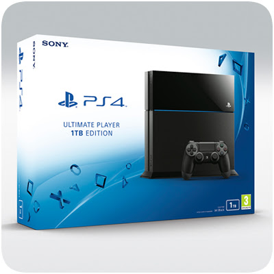 Sony Officially Announces 1TB PS4, Coming in July 2015