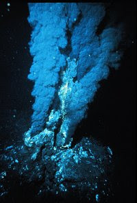Seafloor hot vents, like this one, are powering undersea gardens around the world, researchers are finding (Image: OAR/NURP; NOAA; P Rona)