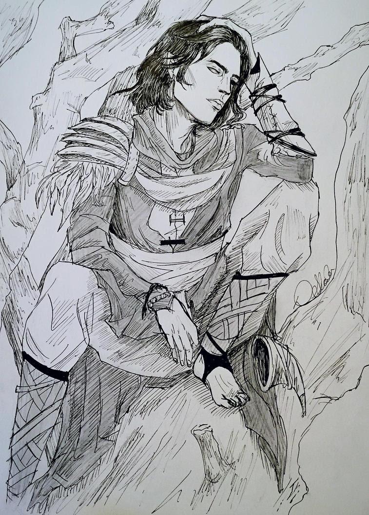 Kieran of the Hunt by OblivionsDream
