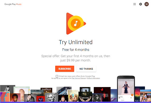 4 Months of Free Google Music for July 4th Independence Day • vlogg.com