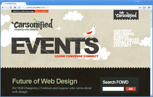 Carsonified events