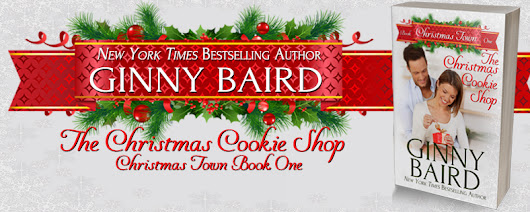 The Christmas Cookie Shop by Ginny Baird+ Giveaway