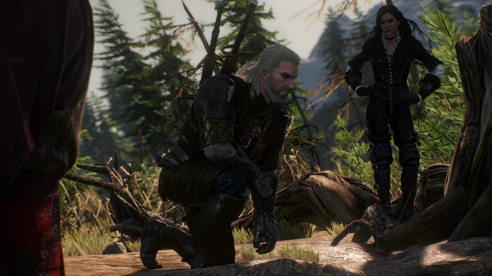 1920x1080 Px Geralt Of Rivia The Witcher 3 Wild Hunt Yennefer Of