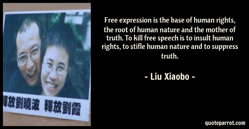 Free Expression Is The Base Of Human Rights The Root O By Liu