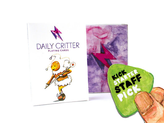 Daily Critter Playing cards ( Pun based critters ) by Alberto Rodriguez — Kickstarter