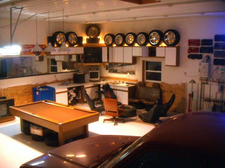 32x40 Pole Barn Shop Man Cave The Garage Journal Board