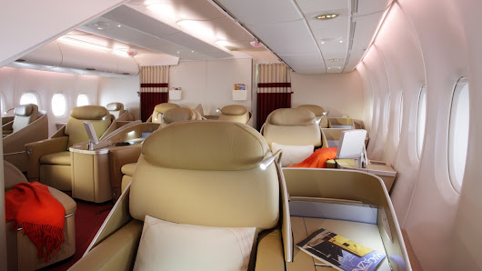 Top 10: most luxurious Airbus A380 First Class products