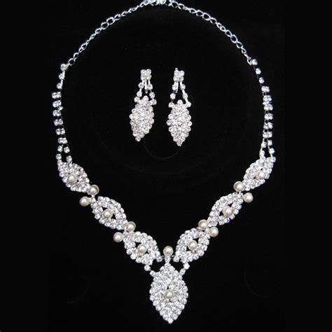 Bridal Jewelry Sets Artificial Diamond Bridal Jewellery