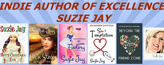 It's time for a new indie author of excellence and today it is suzie jay